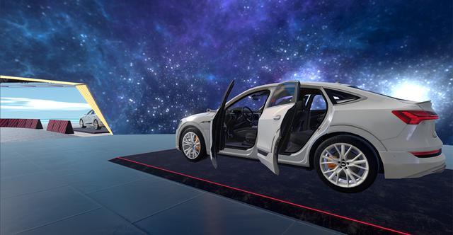 画像3: 「バーチャルマーケット4」に「Audi e-tron Sportback」登場