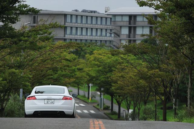 画像11: 【試乗記】Audi TT Coupe 2.0 TFSI quattro[再]