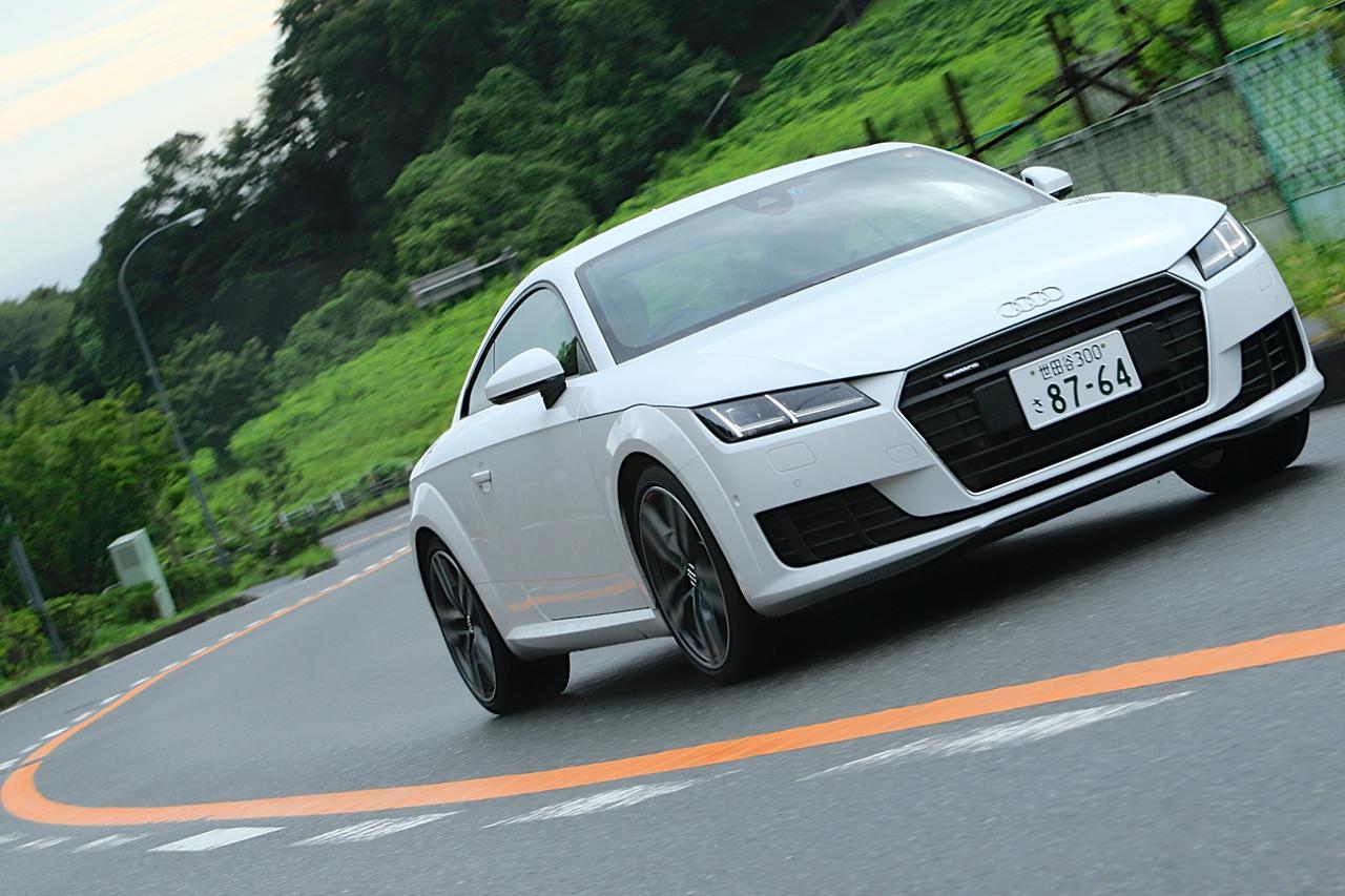 画像9: 【試乗記】Audi TT Coupe 2.0 TFSI quattro[再]