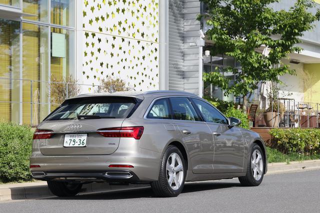 画像4: 【ミニ試乗記】Audi A6 Avant 40 TDI quattro sport