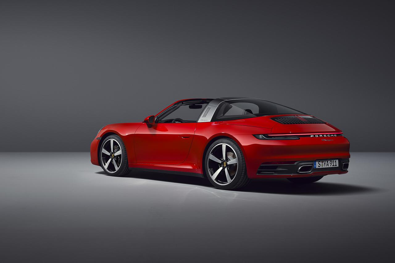 画像4: 新型「911タルガ」を追加