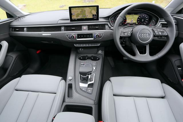 画像4: 【ミニ試乗記】Audi A5 Sportback 2.0 TFSI quattro sport[再]