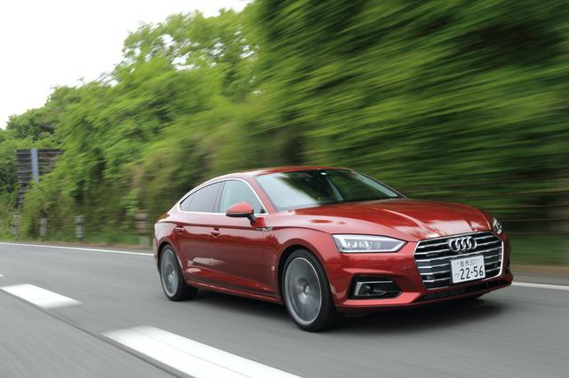 画像7: 【ミニ試乗記】Audi A5 Sportback 2.0 TFSI quattro sport[再]