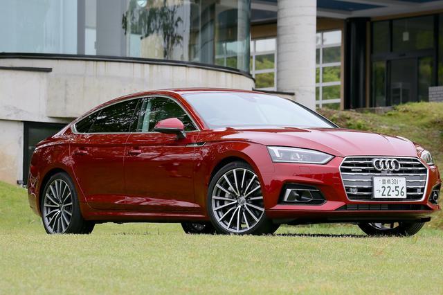 画像1: 【ミニ試乗記】Audi A5 Sportback 2.0 TFSI quattro sport[再]
