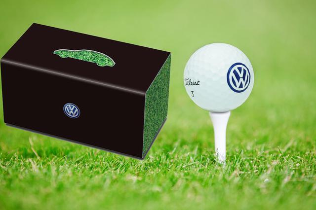 画像: VWオリジナルゴルフボール(20名)