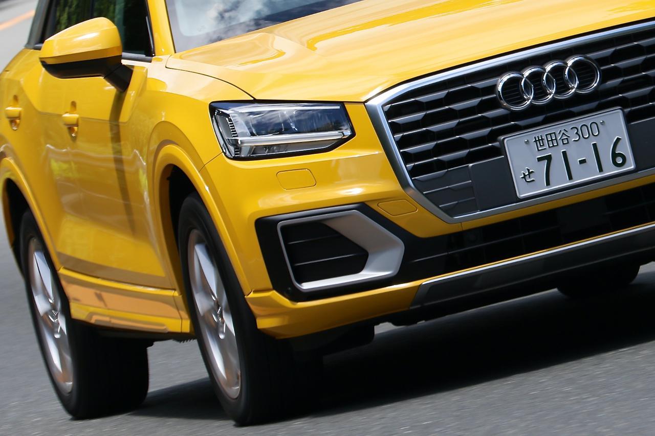 画像1: 【試乗記】Audi Q2 1.0 TFSI sport[再]