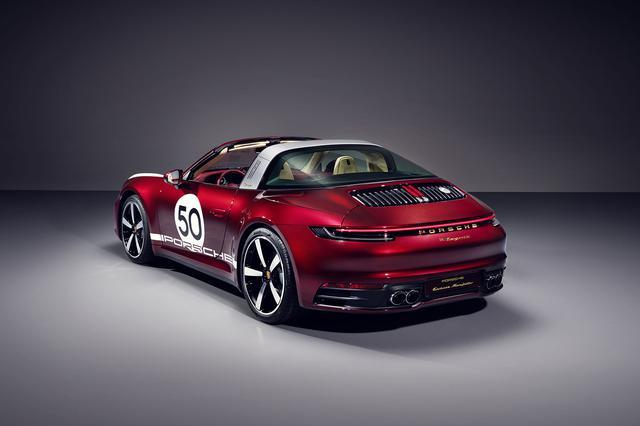 画像3: 限定992台 「911 タルガ4S ヘリテージデザインエディション」を発表