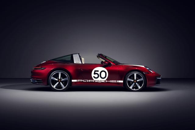 画像2: 限定992台 「911 タルガ4S ヘリテージデザインエディション」を発表