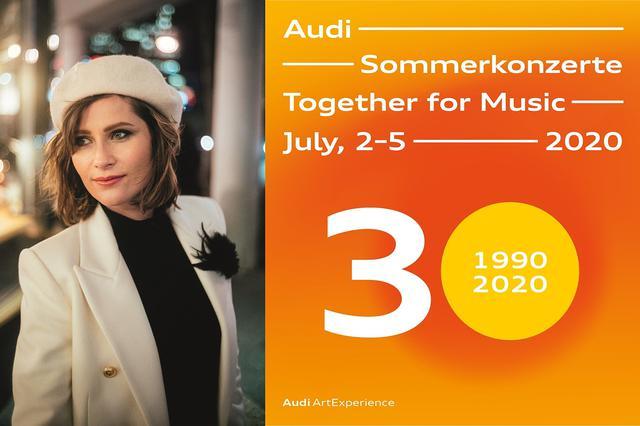 画像: 「Audi Summer Concerts」はオンラインで