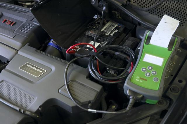 画像5: 【GTI Clubsport】バッテリーテストで救われた!