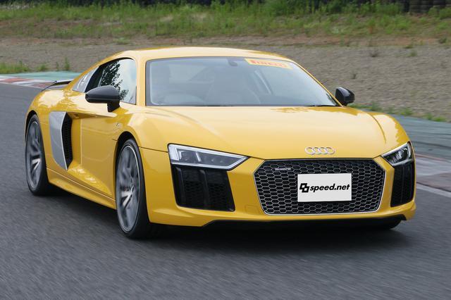 画像1: 【試乗記】Audi R8 V10 plus Coupé[再]