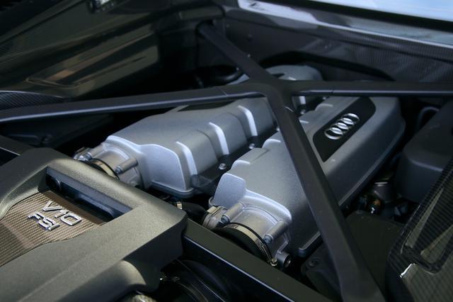 画像7: 【試乗記】Audi R8 V10 plus Coupé[再]