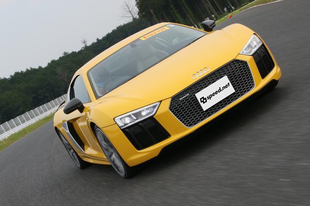 画像4: 【試乗記】Audi R8 V10 plus Coupé[再]