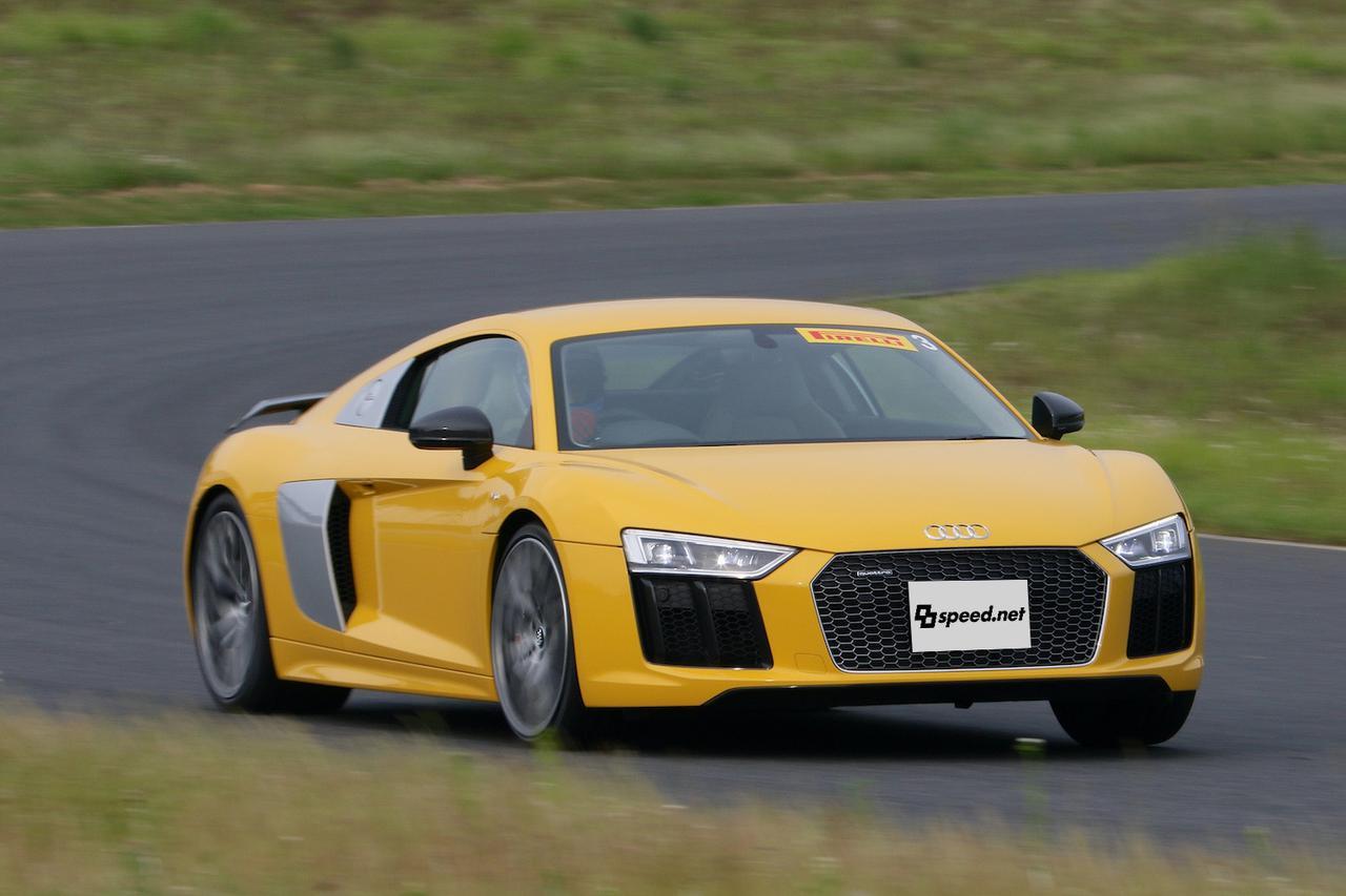 画像9: 【試乗記】Audi R8 V10 plus Coupé[再]