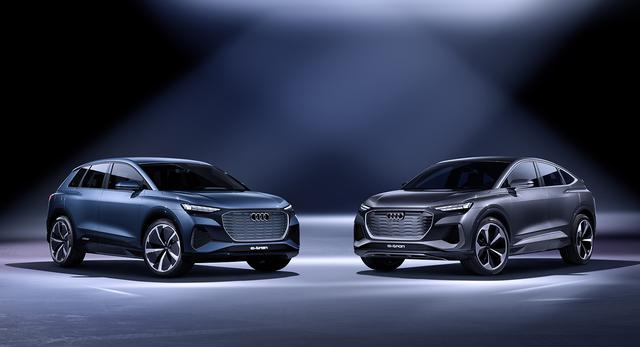 画像2: 「Audi Q4 Sportback e-tron concept」の写真を公開