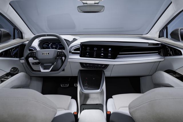 画像4: 「Audi Q4 Sportback e-tron concept」の写真を公開