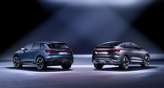 画像3: 「Audi Q4 Sportback e-tron concept」の写真を公開