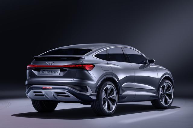画像6: 「Audi Q4 Sportback e-tron concept」の写真を公開