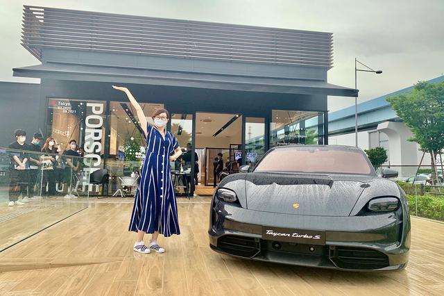 """画像1: 「Porsche NOW Tokyo」で""""シンデレラのマスク""""をゲット!"""