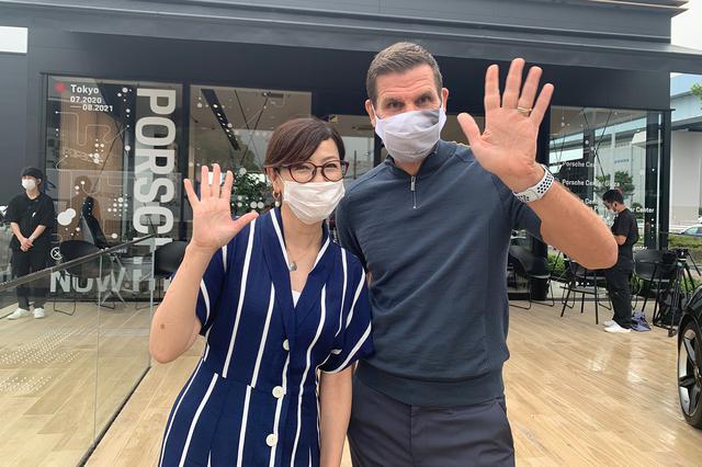 """画像9: 「Porsche NOW Tokyo」で""""シンデレラのマスク""""をゲット!"""