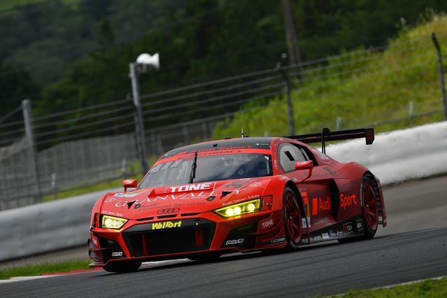 画像: #21 Hitotsuyama Audi R8 LMS(川端伸太朗/近藤 翼)