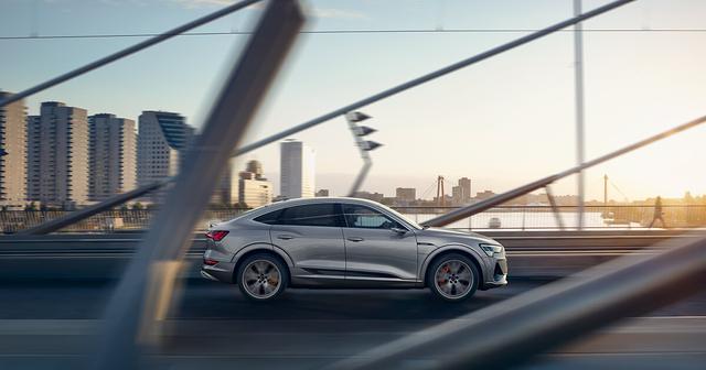 画像: 新世代EV Audi e-tron スペシャルサイト