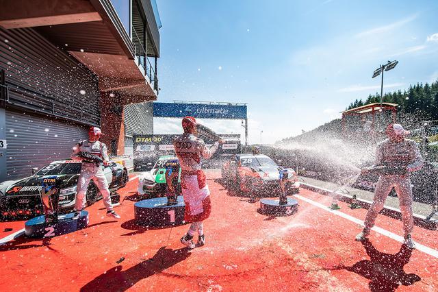 画像1: 【DTM Rd.1 Spa-Francorchamps】Audiが上位独占