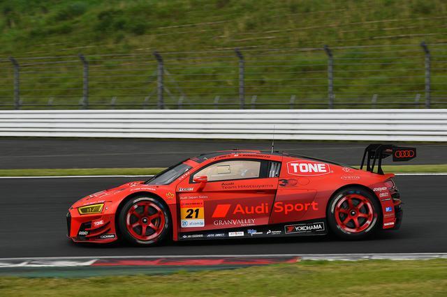 画像2: 【SUPER GT Rd.2 Fuji】Audi Team Hitotsuyamaが今シーズン初入賞