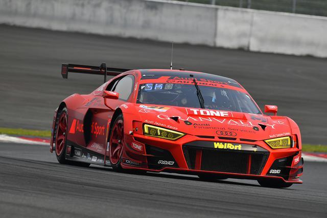 画像1: 【SUPER GT Rd.2 Fuji】Audi Team Hitotsuyamaが今シーズン初入賞