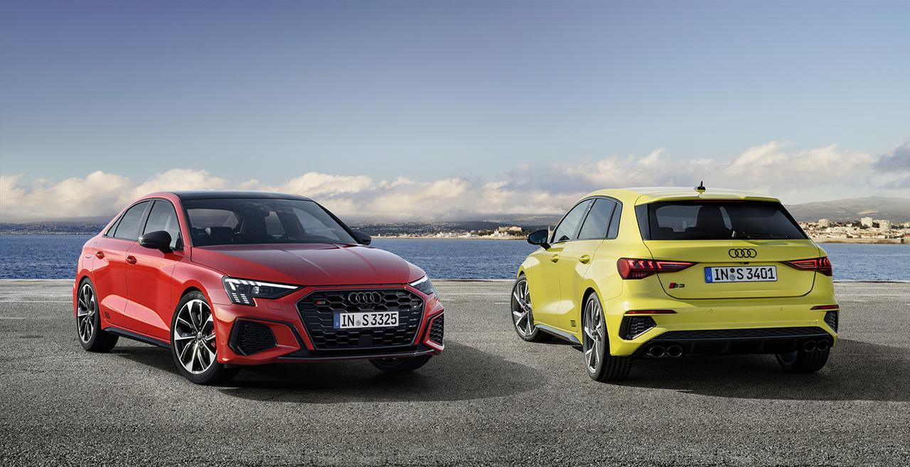 画像1: 新型「Audi S3 Sportback/Sedan」登場
