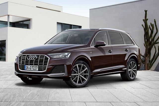 画像: Audi Q7 45 S line limited