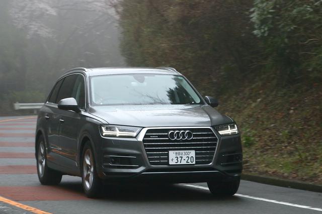画像6: 【試乗記】Audi Q7 3.0 TFSI quattro[再]