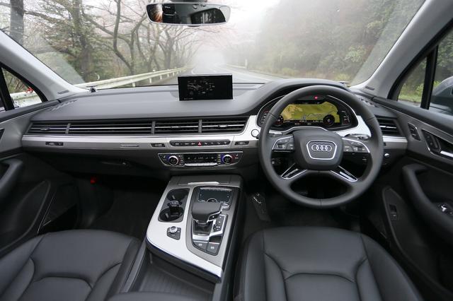 画像3: 【試乗記】Audi Q7 3.0 TFSI quattro[再]