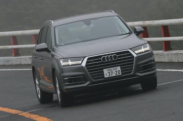 画像1: 【試乗記】Audi Q7 3.0 TFSI quattro[再]