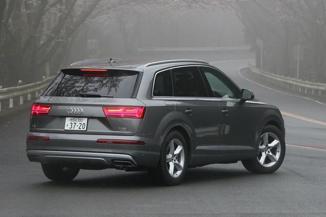 画像9: 【試乗記】Audi Q7 3.0 TFSI quattro[再]