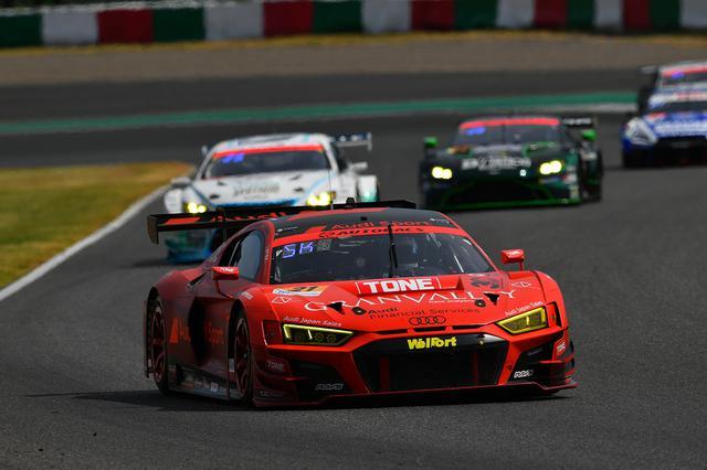 画像4: 【SUPER GT Rd.3 Suzuka】Audi Team Hitotsuyamaがピンチを脱して25位完走