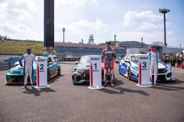 画像2: 【TCRJ Rd.2 MOTEGI】Audiの篠原選手とVWの松本選手がともに1勝挙げる