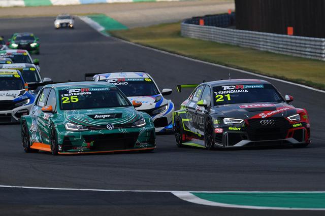 画像1: 【TCRJ Rd.2 MOTEGI】Audiの篠原選手とVWの松本選手がともに1勝挙げる