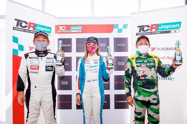 画像7: 【TCRJ Rd.2 MOTEGI】Audiの篠原選手とVWの松本選手がともに1勝挙げる
