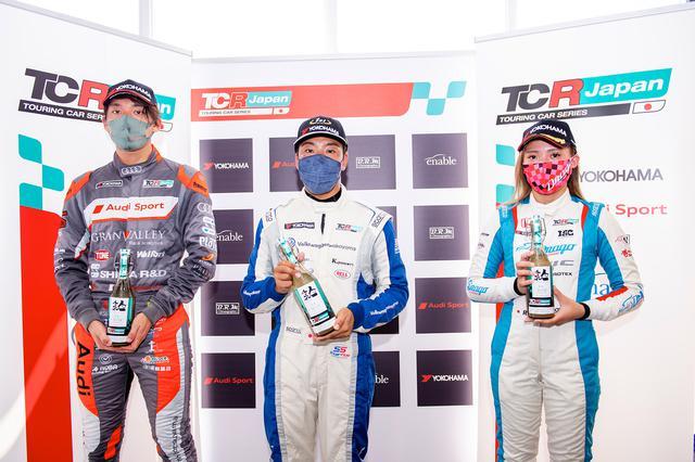 画像8: 【TCRJ Rd.2 MOTEGI】Audiの篠原選手とVWの松本選手がともに1勝挙げる
