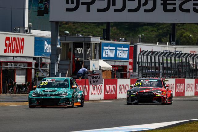 画像4: 【TCRJ Rd.2 MOTEGI】Audiの篠原選手とVWの松本選手がともに1勝挙げる