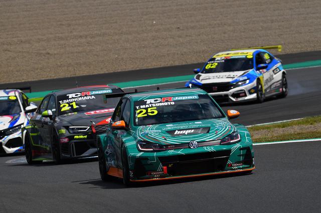 画像3: 【TCRJ Rd.2 MOTEGI】Audiの篠原選手とVWの松本選手がともに1勝挙げる