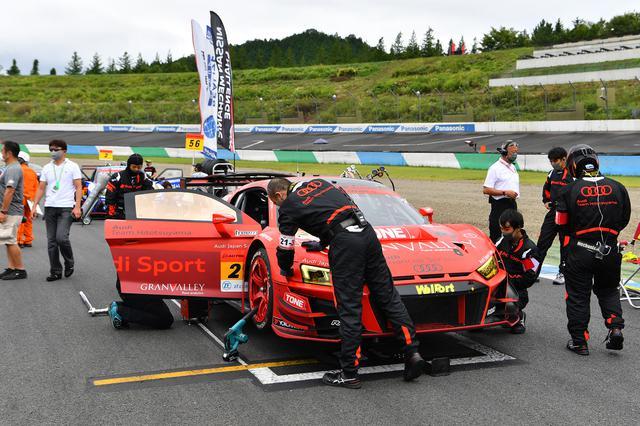 画像1: 【SUPER GT Rd.4 Motegi】Audi Team Hitotsuyamaが今季最高の5位