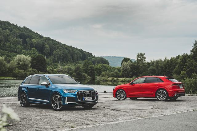 画像1: 4.0 TFSI搭載の「Audi SQ7」「Audi SQ8」登場