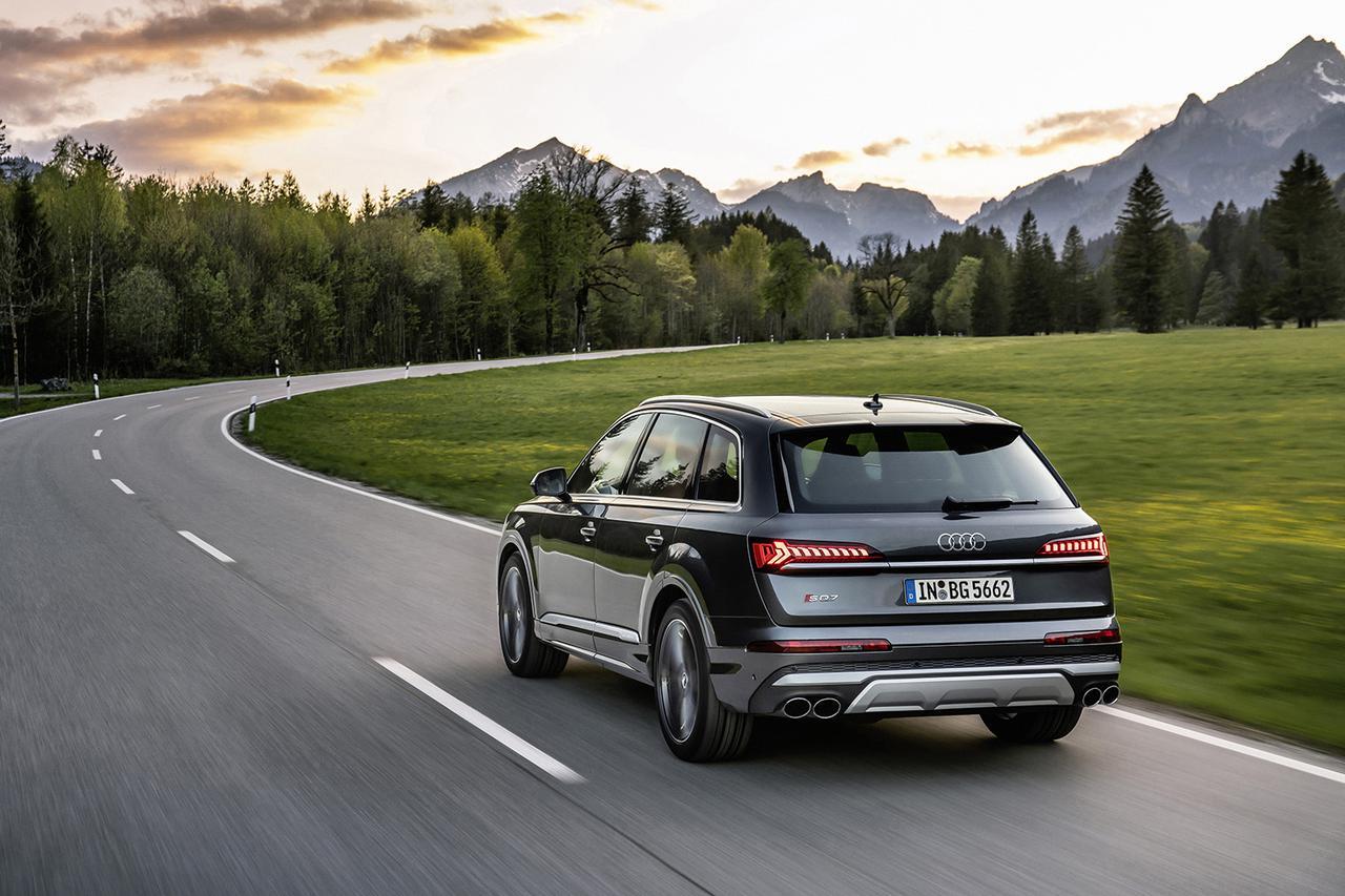 画像5: 4.0 TFSI搭載の「Audi SQ7」「Audi SQ8」登場