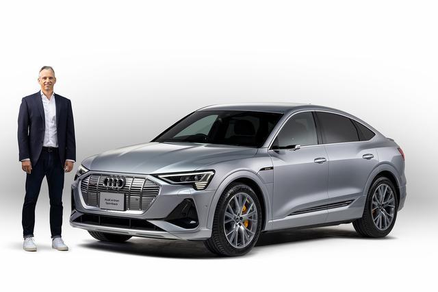 画像1: 「Audi e-tron Sportback」日本発売
