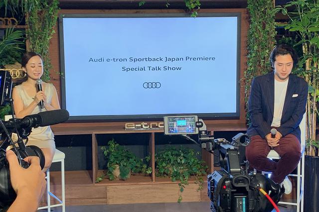 画像7: 「Audi e-tron Sportback」日本上陸記念! 秋の夜のレセプションパーティ2020