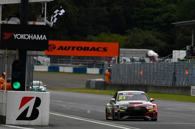 画像7: 【TCRJ Rd.3 OKAYAMA】Audiの篠原選手が2連勝