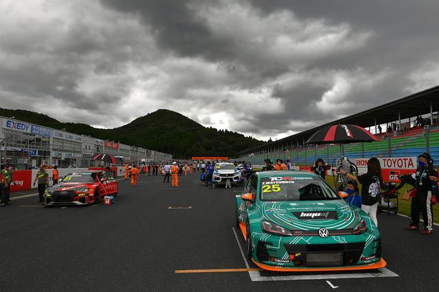 画像3: 【TCRJ Rd.3 OKAYAMA】Audiの篠原選手が2連勝