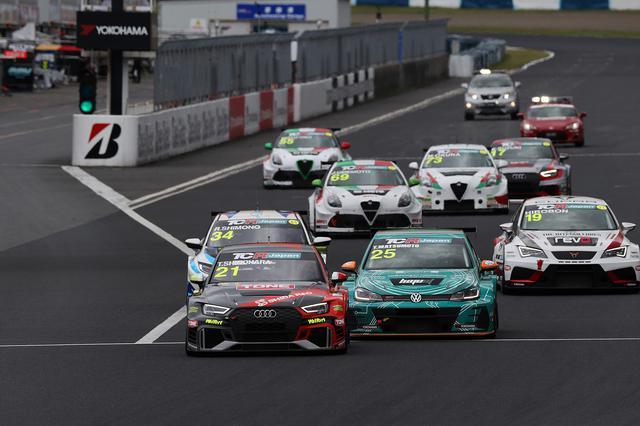 画像4: 【TCRJ Rd.3 OKAYAMA】Audiの篠原選手が2連勝